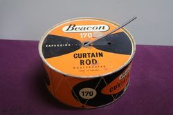 100 Feet Curtain Rod Rust Proofed Tin