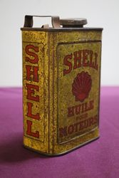 Early Shell 1 Litre Oil Can