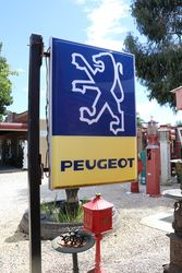 Double Sided Peugeot Light Box Advertising Sign