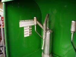 Castrol  3 Pump Bread bin Oil Dispensing Cabinet