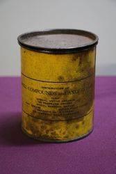 Australian Shell 1lb Hi Pressure Grease Tin