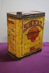 Australian Shell One Gallon Oil Tin