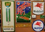 Motor Oil Antique Signs