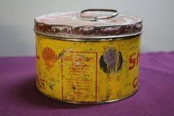 Australian Shell 5lb Grease Tin