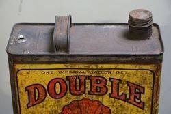 Australian Shell Double One Gallon Motor Oil Tin