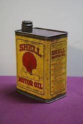 Australian Shell Quart Motor Oil Tin