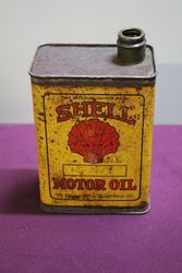 Australian Shell Quart Motor Oil Tin