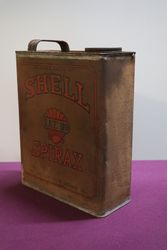 Australian Shell One Gallon SAE110 Spirax Oil Tin