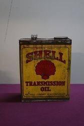 Australian Shell One Gallon Transmission Oil Tin