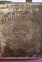 Australian Shell One Gallon Spirax Motor Oil Tin