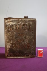 Australian Shell One Gallon Spirax Motor Oil Tin