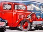 Auto Ecole Raoul Tin Sign ---SA24