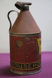 Australian Shell Pennant Household Kerosene Tin