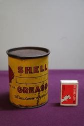 Australian Shell 1 lb Compounds and Axle Grease Tin