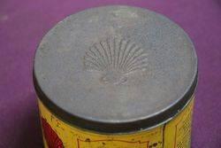 Australian Shell Petroleum Jelly Tin