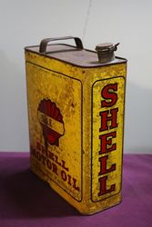 Australian Shell  One Gallon SAE Motor Oil Tin