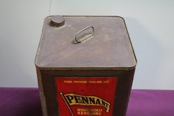 Australian Shell 4 Gallons Pennant Household Kerosene Drum