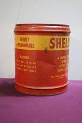 Australian Shell 4 Gallons Shellite Spirit  Oil Drum