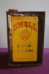 Australian Shell 4 Gallon Spirax Oil Drum