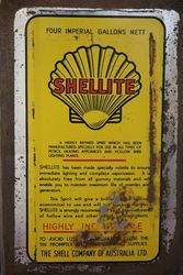 Australian Shell 4 Gallons Shellite Oil Drum