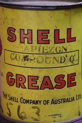 Australian Shell 1 lb Apiezon Compound andquotQandquot Grease Tin