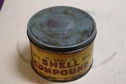Australian Shell 1 lb Compound Lubrication Tin