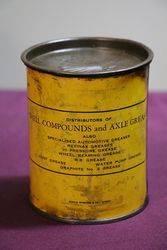 Australian Shell 1 lb Compound No2  Grease Tin