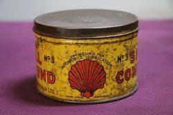 Australian Shell 1 lb Compound No3 Tin