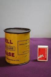 Australian Shell 1 lb HiPressure Grease Tin