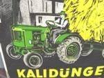 Kalidunger-Erntebringer Enamel Sign --- SA19