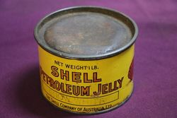 Australian Shell 1 lb Petroleum Jelly Tin andquotSnow Whiteandquot
