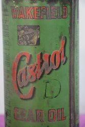Wakefield Castrol Quart Gear Oil Tin