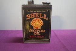 Shell Motor Oil Tin