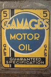 Gamages 5 Gallon Motor Oil Drum