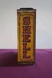 Early Australian Shell Double One Gallon Motor Oil Tin