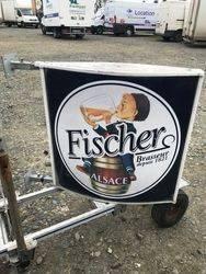 Double Sided Convex Fischer Beer Lightbox