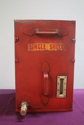 Single Shell Oil Drum With A  Brass Thumb Push and Level gauge