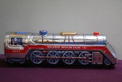 Battery Operated Silver Mountain Express A Train