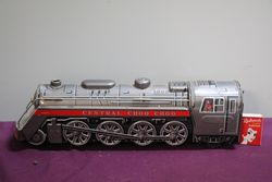 Battery Operated  Vintage Tin Litho Central CHoo Choo Train Japan