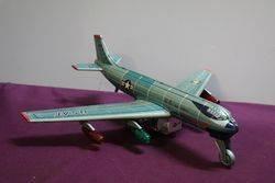 1957 TN Nomura Japan Battery Operated Strato Jet Toy