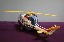 Battery Operated  TPS Supe Flying Police Helicopter