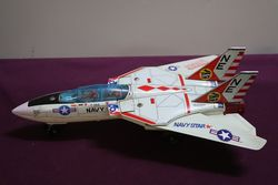 Battery Operated F14A Navy Jet Fighter andquotTOMCATandquot