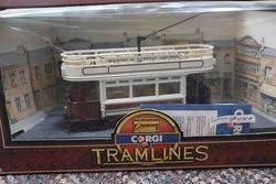 Corgi Tramlines Toy  Beresford SQ Plumstead Abbeywood