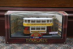 Corgi Tramlines Toy Glascow Corporation