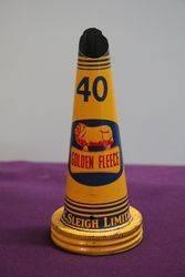 Golden Fleece Ram Tin Top