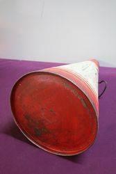 Gargoyle Mobiloil  BE 2 12 Gallons Oil Cone Can