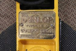 Dunlop Trolley Air Pump Compressor