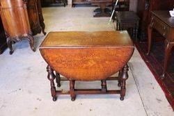 Quality Oak Gate Leg Table