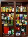 Collection Of Genuine Antique Auto Cans Etc --- Auto 30