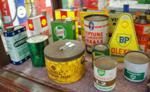 Antique Assorted Automobilia Cans --- Auto 19
